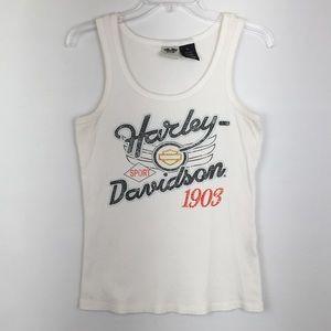 Harley-Davidson Graphic Print Tank Top
